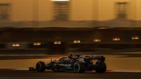 Valtteri Bottas en los test de Bahrein