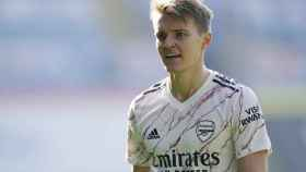 Odegaard, con el Arsenal