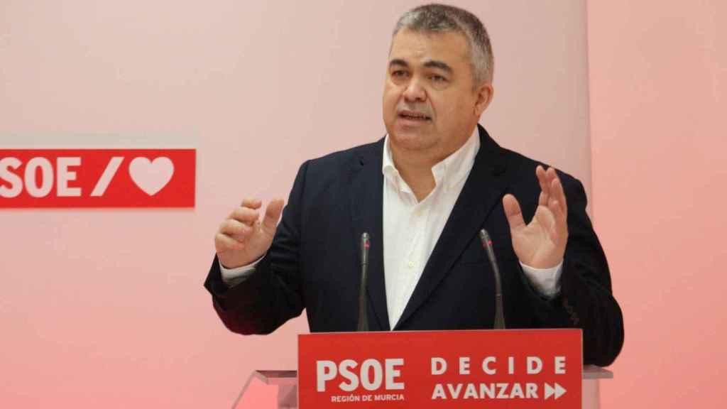 El secretario de Coordinación Territorial y de Relaciones del PSOE con el Gobierno, Santos Cerdán.