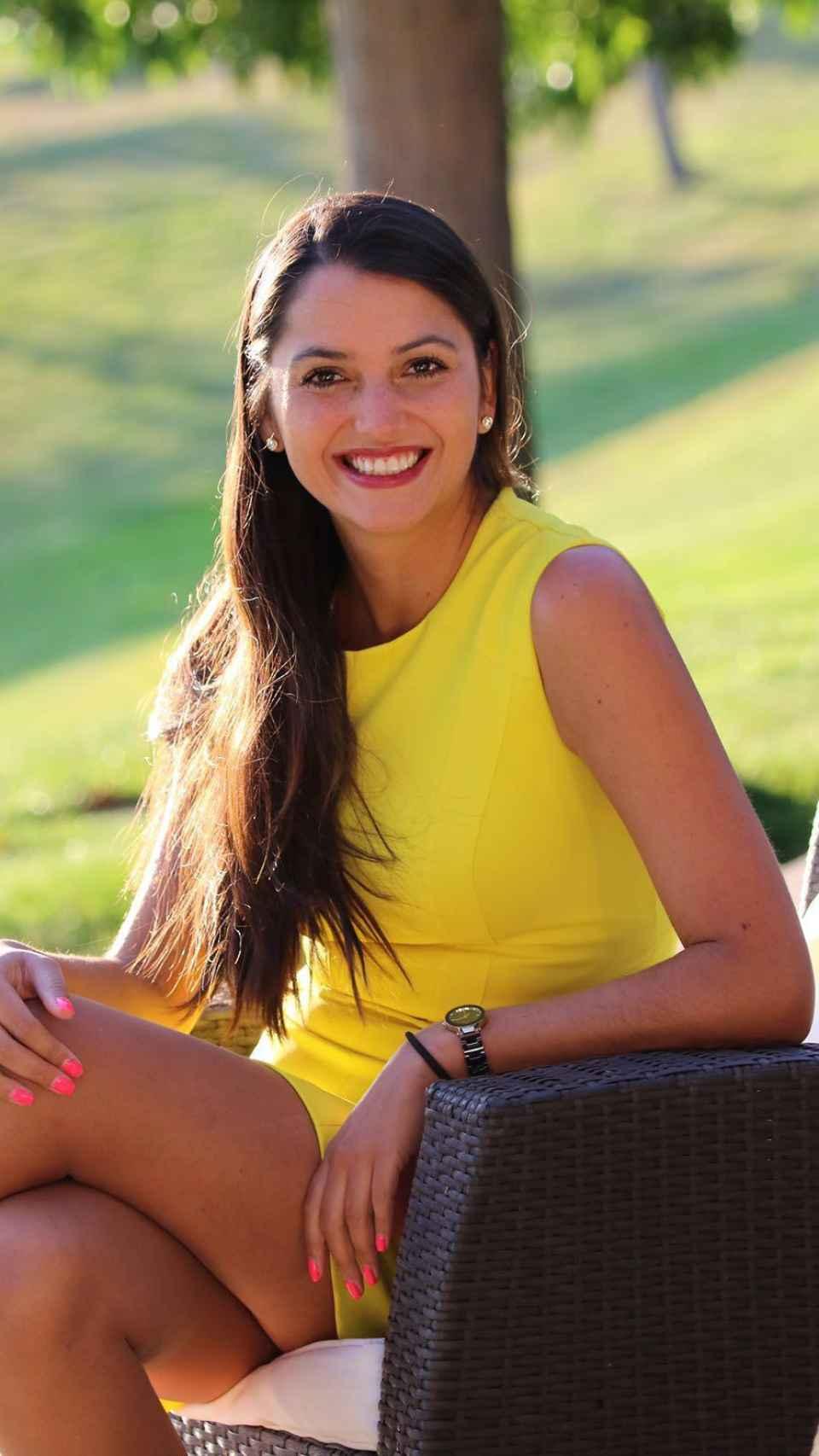 La empresaria mexicana Paulina Sánchez.