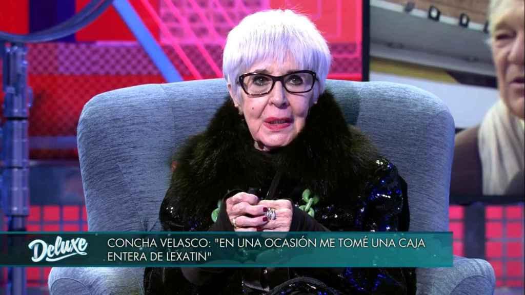Buenafuente evitó sin saberlo un intento de suicidio de Concha Velasco