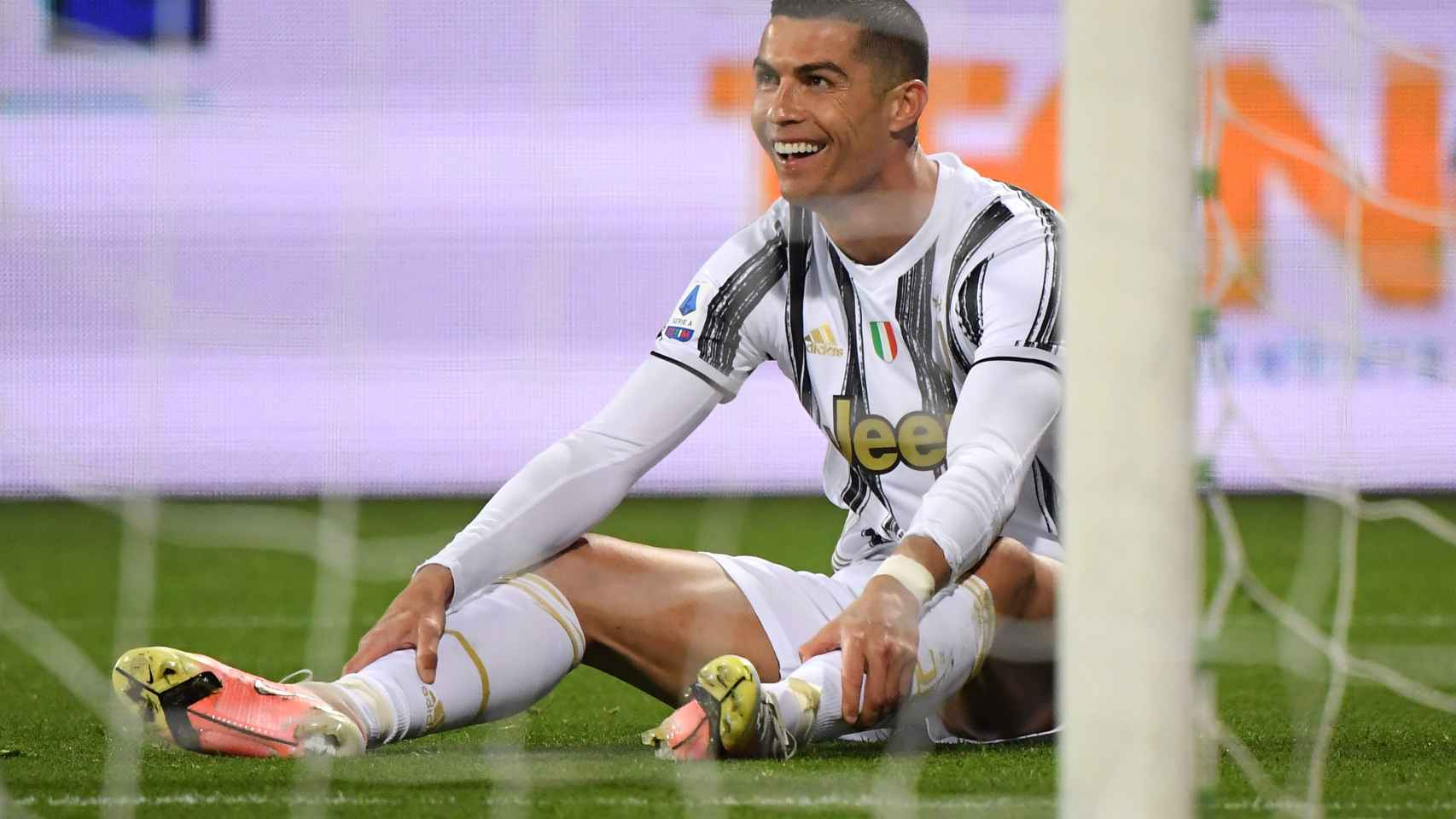 Cristiano Ronaldo, en un partido con la Juventus de Turín