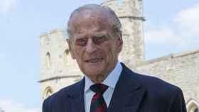 El duque de Edimburgo en junio de 2020, en el castillo de Windsor.