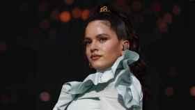 Rosalía, durante una actuación en Madrid.