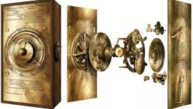Modelo del engranaje del Cosmos del Mecanismo de Anticitera.