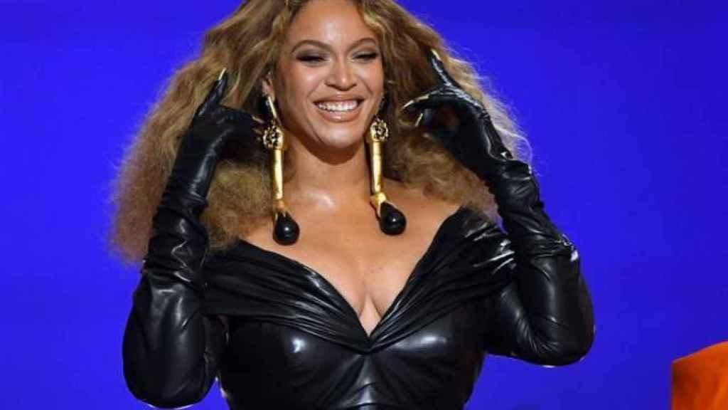 Beyoncé en los Grammy.