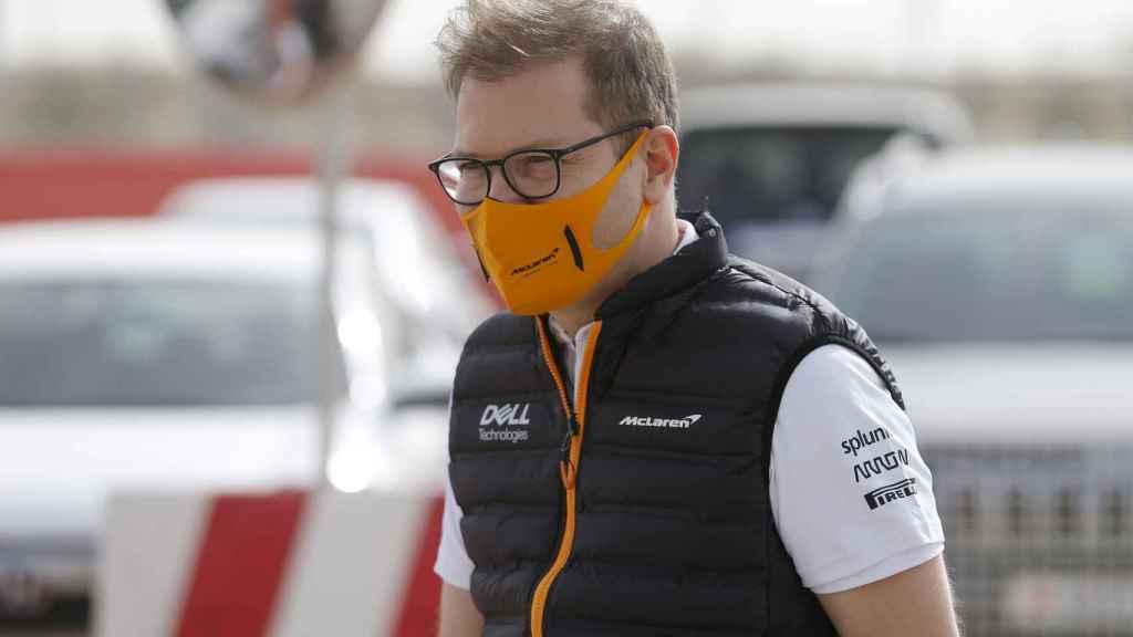 Andreas Seidl, Team Principal de McLaren, en Bahrein
