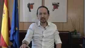 El vicepresidente segundo y líder de Podemos, Pablo Iglesias, este lunes.