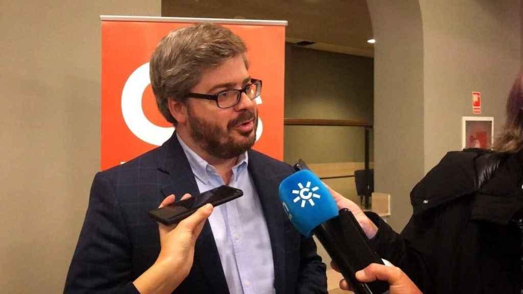 Fran Hervías, exsecretario de Organización de Ciudadanos.