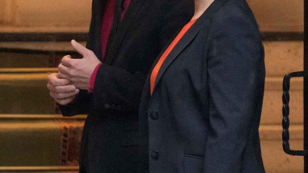 Pablo Iglesias e Isabel Diaz Ayuso en una imagen de archivo.