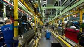 Línea de montaje de Ford Almussafes. EE