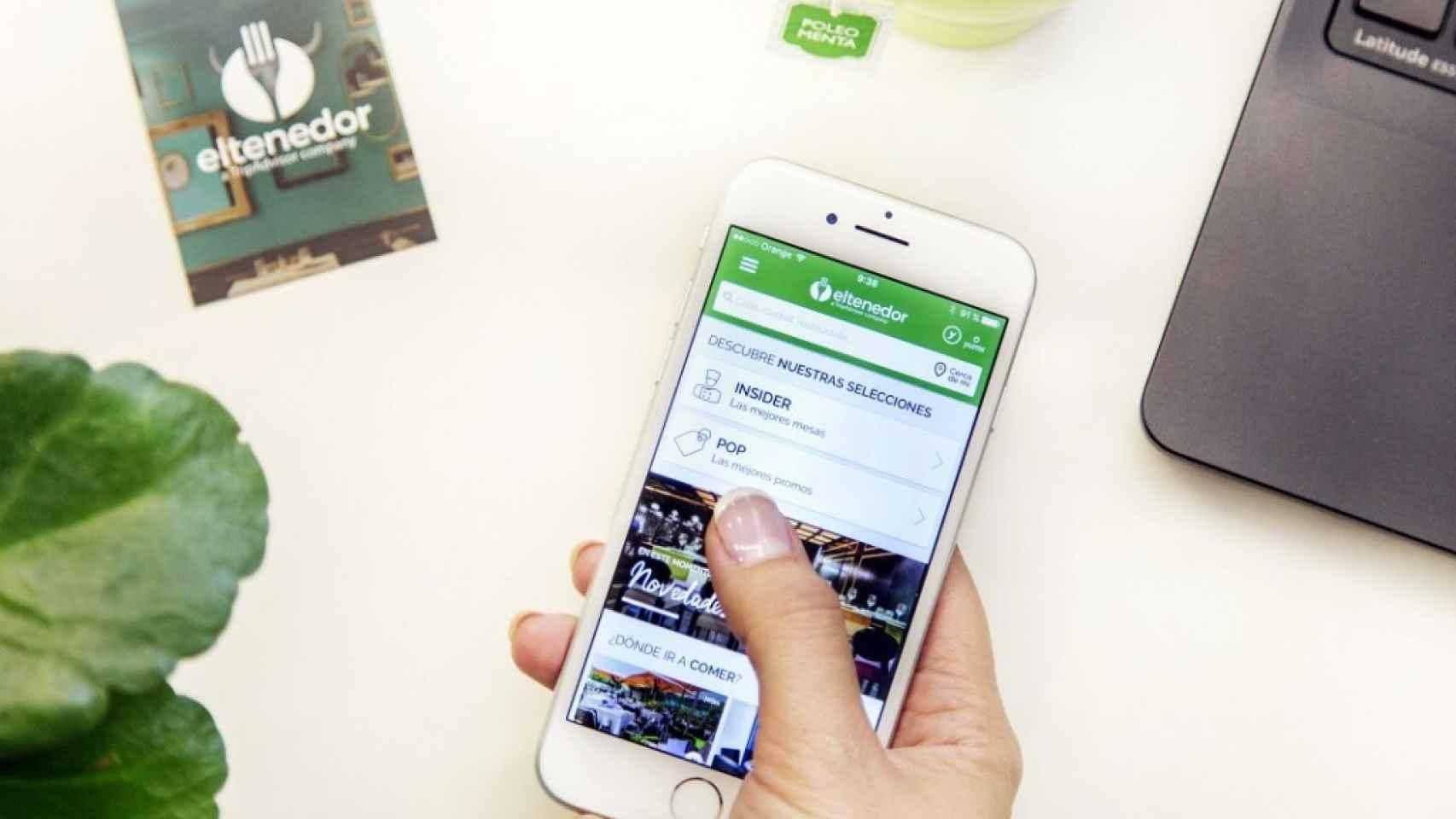 ElTenedor cambia de nombre en España: pasará a llamarse TheFork a partir de mayo