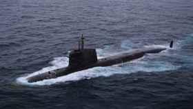 El submarino francés Scorpene
