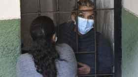 La expresidenta interina Jeanine Áñez en una celda en La Paz, Bolivia, tras ser detenida.