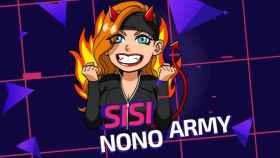 Captura de pantalla de uno de los streamings de Sisi Nono.