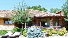 La casa de Pablo Iglesias e Irene Montero en Galapagar.