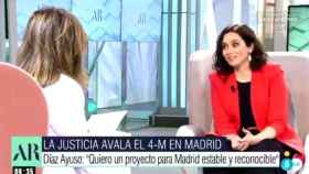 La entrevista de Ana Rosa Quintana a Isabel Díaz Ayuso. Telecinco