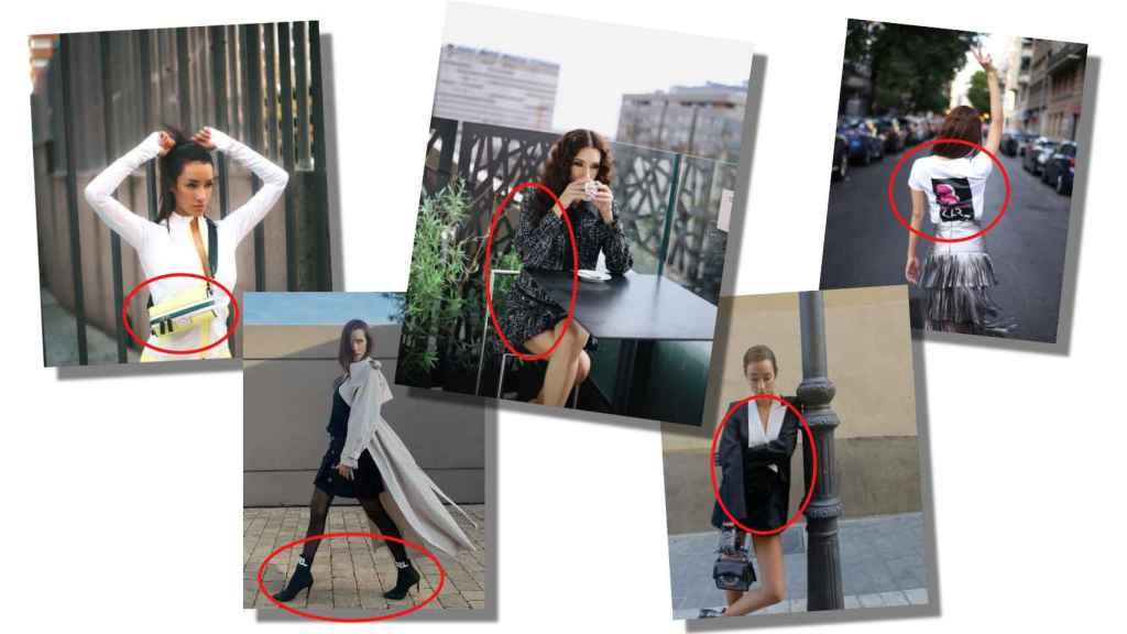 Adara siente adoración por los diseños de Karl Lagerfeld, y así queda reflejado en sus redes.