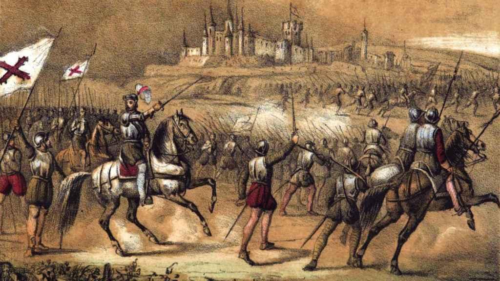 Juan de Padilla levanta el asedio sobre Segovia.