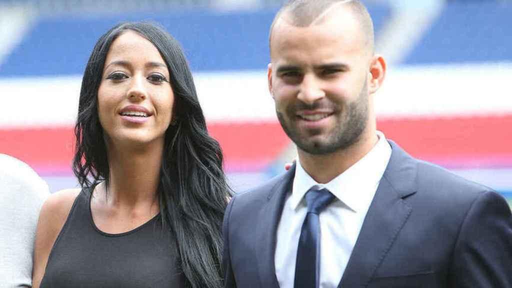 Jesé Rodríguez y Aurah Ruiz en una imagen de archivo.