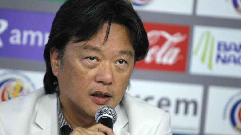 Eduardo Li, expresidente de la Federación de Fútbol de Costa Rica