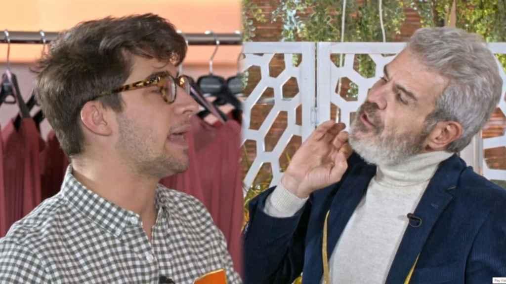 """'Maestros de la costura' vive un choque entre Lluís y Caprile: """"No me desafíes, ten cuidado"""""""