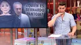 Omar Suárez hablando en lengua de signos en 'Sálvame'.