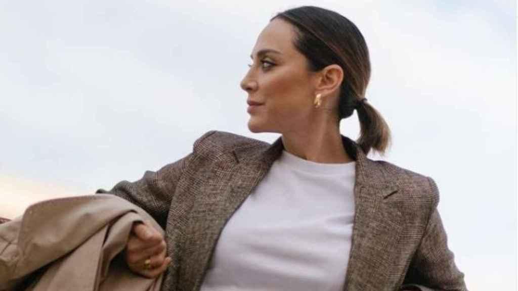 Tamara Falcó deja patente que los trajes son tendencia con su último 'look'