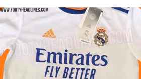 Camiseta del Real Madrid para la temporada 2021/2022