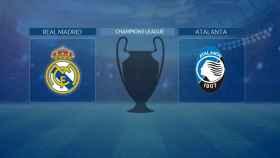 Streaming en directo | Real Madrid - Atalanta (Champions League)
