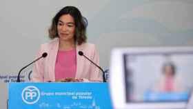 Claudia Alonso, portavoz del PP en el Ayuntamiento de Toledo