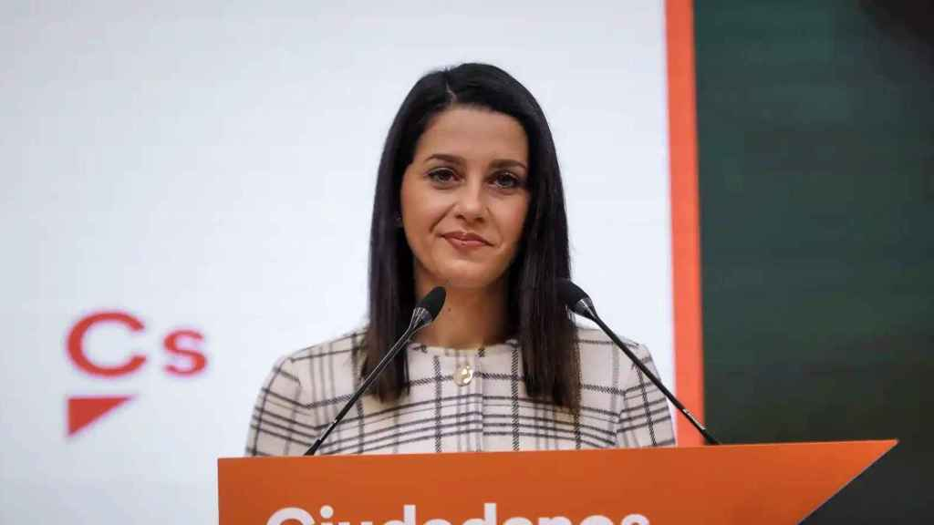 Inés Arrimadas, presidenta de Ciudadanos. EE