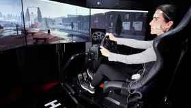 El simulador del IBV para el coche autónomo.