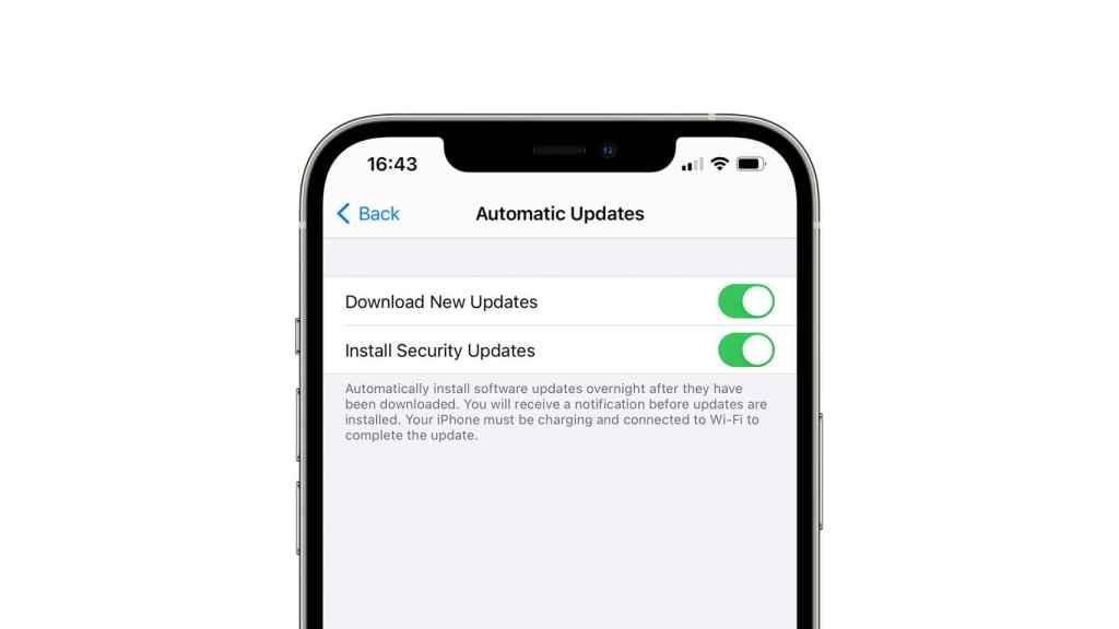Nueva opción de iOS