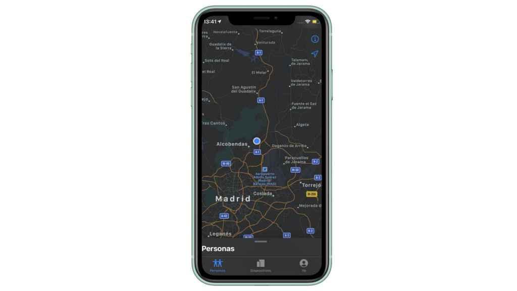 Un móvil se puede localizar si se pierde.