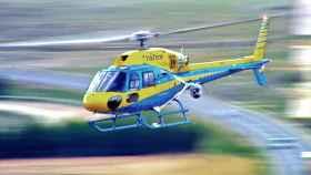 Uno de los helicópteros 'Pegasus' de la DGT.
