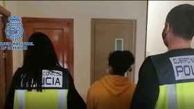 Imagen de la detenida.