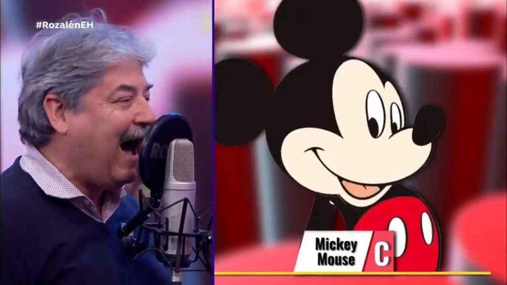 'El Hormiguero' pone cara a los actores de doblaje de Mickey Mouse, Harry Potter y Dora la exploradora