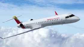 Avión regional de Air Nostrum. EE