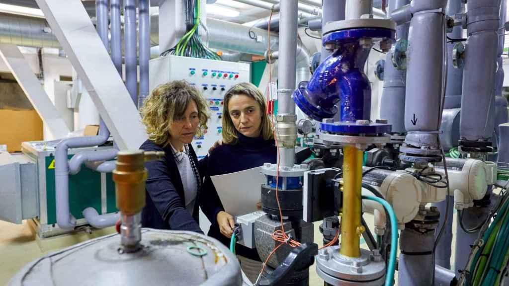 Profesionales de Tecnalia trabajando en el marco del proyecto Kubik