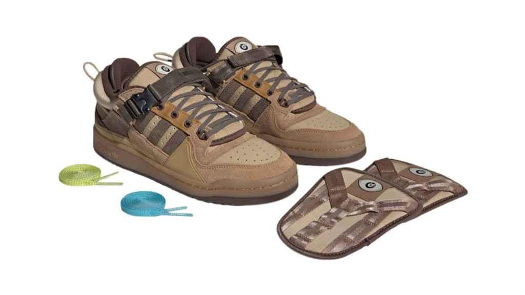 Estas son las zapatillas que suponen la colaboración entre Bad Bunny y Adidas.