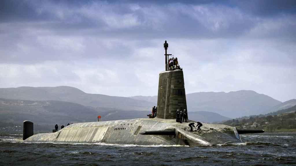 HMS Vigilant, perteneciente a la clase Vanguard