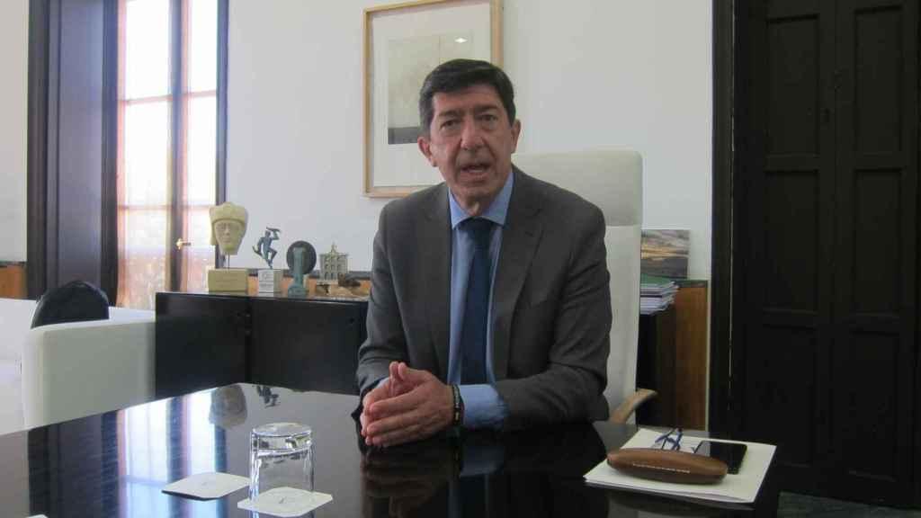 El líder de Cs en Andalucía, Juan Marín.