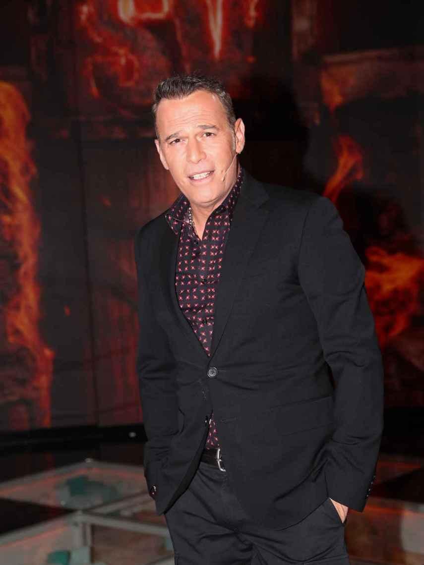 Carlos Lozano, durante 'La gala de Supervivientes', en marzo de 2020.