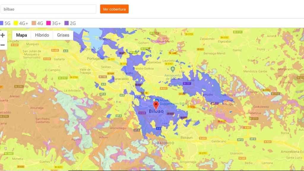Orange cobertura 5G
