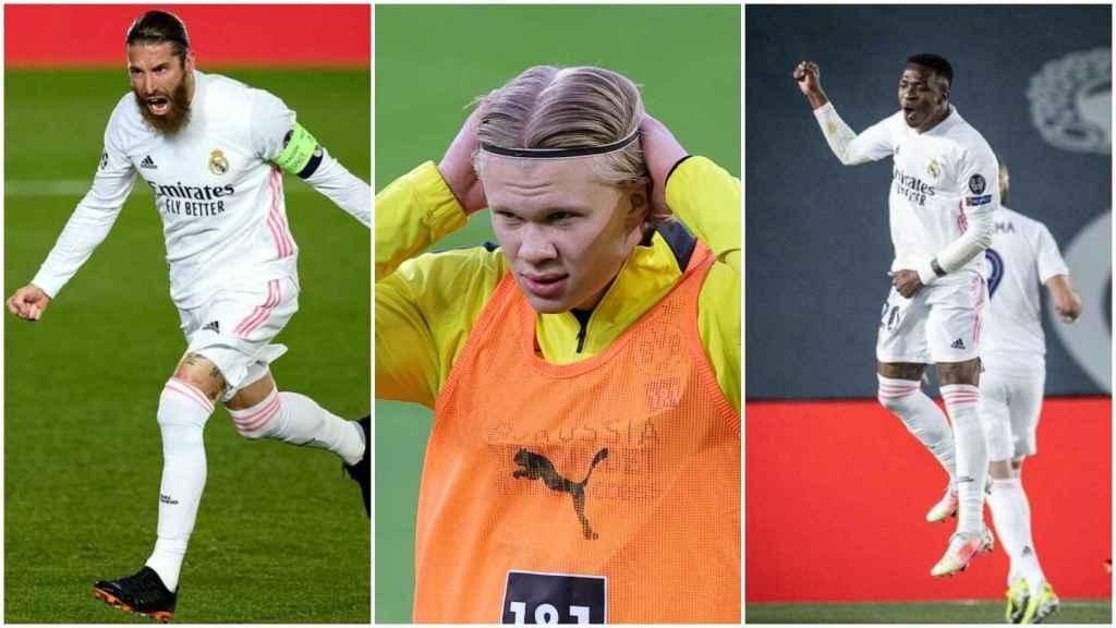 Haaland y sus 'likes' al Real Madrid