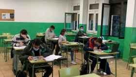Clase en un colegio de la Comunidad de Madrid.