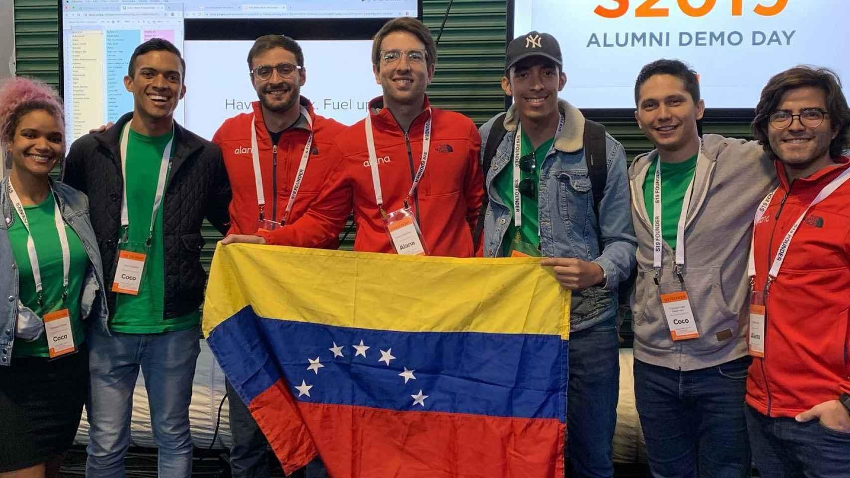 El equipo de Coco, la startup venezolana para la compra de comida y medicamentos desde el exterior
