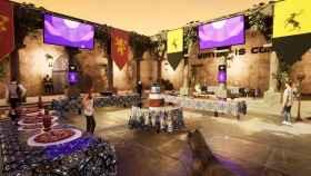 Uno de los entornos virtuales creados por YouCan, inspirado en Juego de Tronos