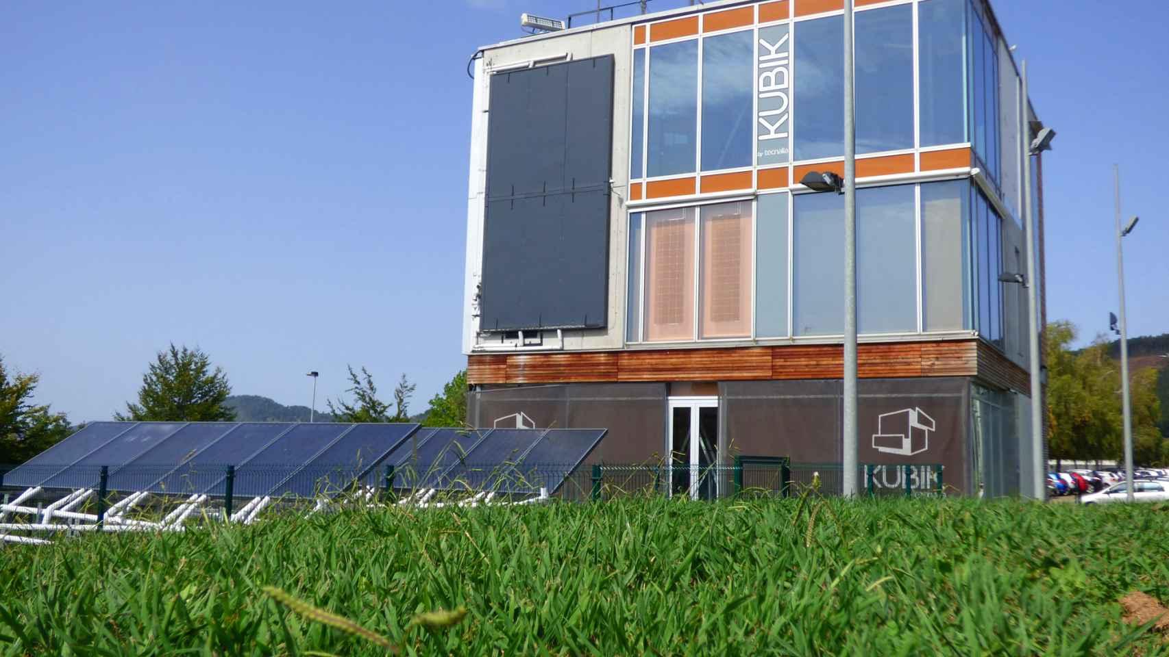El edificio Kubik, en el que se prueban las últimas innovaciones aplicadas a la edificación.